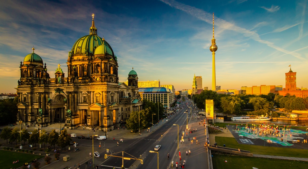City break Berlin  what you should see on a 4 days visit Berlin   city view