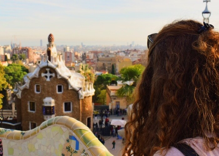 Top of Park Guell, Barcelona
