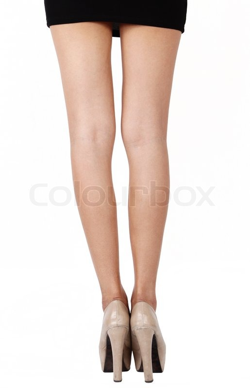 Business woman leg   Stock Photo   Colourbox