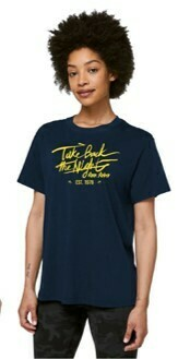 TBTN Ann Arbor T-Shirt Navy with Maize