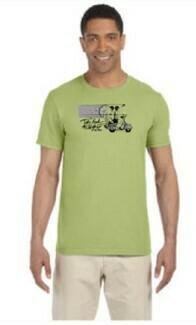 TBTN Ann Arbor T-Shirt Kiwi with Full Logo