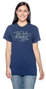 TBTN Ann Arbor T-Shirt Metro Blue with Silver
