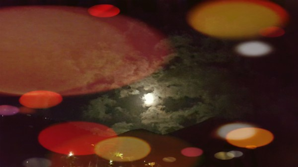 Luna con effetti