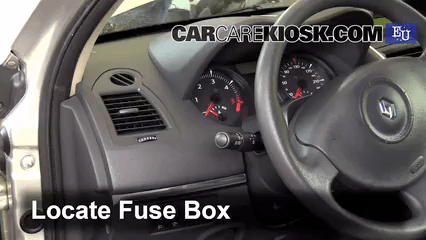 Interior Fuse Box Location: 2002-2008 Renault Megane - Coingamers.co