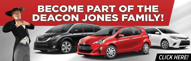 Deacon Jones Toyota   New and Used Toyota Dealership in Clinton  NC Previous  Next