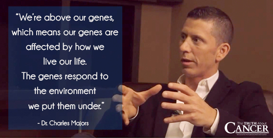 Advice for cancer patient: Every cancer is different. They are not all the same. Dr. Charles Majors