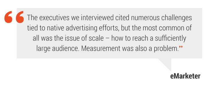 native advertising quote