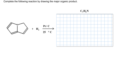 Solved: Complete The Following Reaction By Drawing The Maj... | Chegg.com