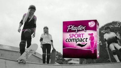 Playtex Sport Compact TV Commercial, 'Discreetly Pocket ...