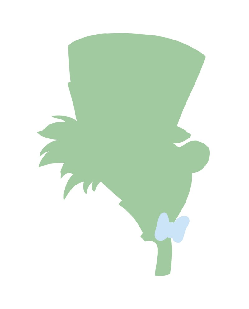 Large Of Mad Hatter Silhouette