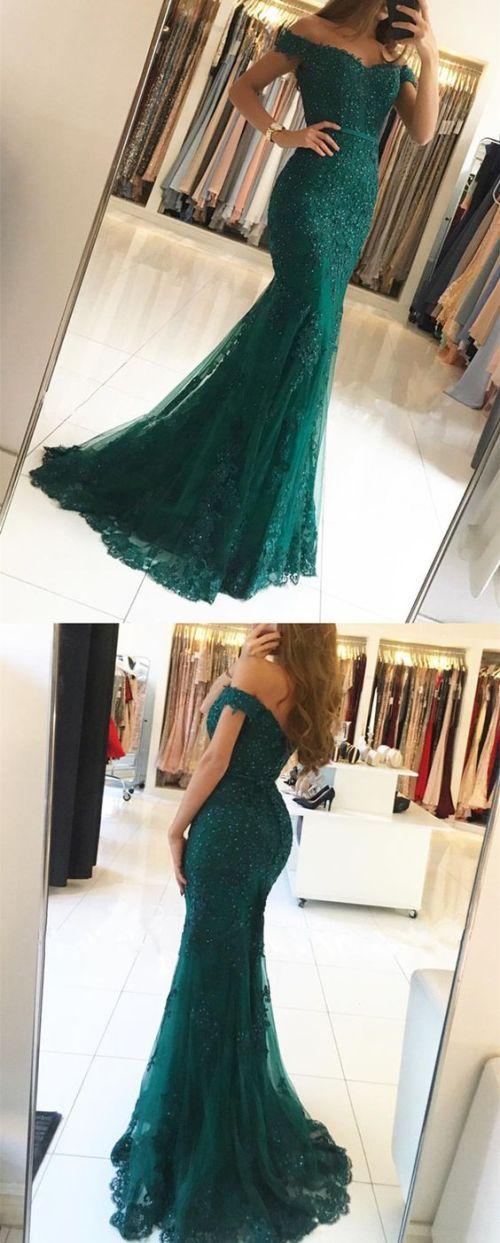 Medium Of Emerald Green Dress