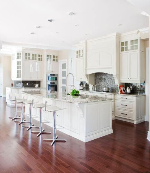 Medium Of Rectangular Kitchen Design