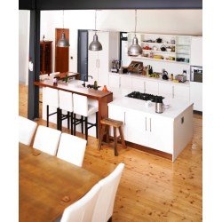 Cheerful A Kitchen A Few Including Slimcabinets Long Pulls Rectangular Kitchen Designs Kitchen Room Combination Ideas Kitchen Room Combination S kitchen Kitchens Dining Rooms Combined