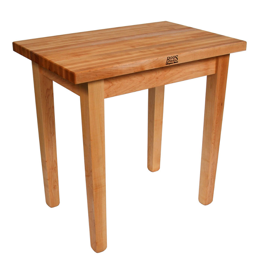 work table kitchen work table John Boos C Country Work Table Maple Butcher Block 21 Models