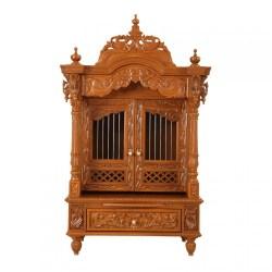 Indian Teak Wood Pooja Cabinets Designs 170613_2599 Teak Wood
