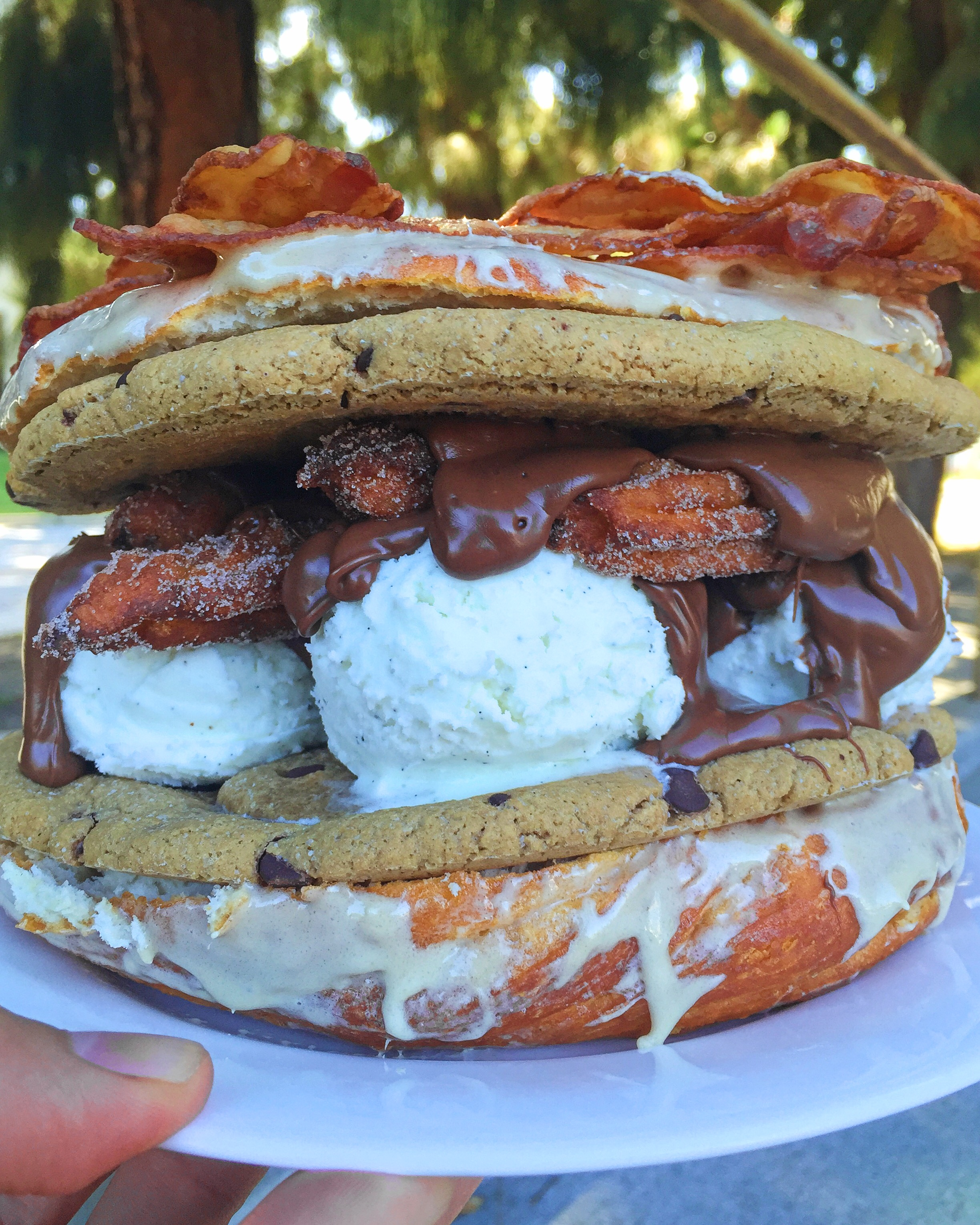 Peachy Epic Churro Cookie Donut Ice Cream Sandwich Epic Churro Cookie Donut Ice Cream Bloq Cookie Ice Cream Sandwich Magic Kingdom Cookie Ice Cream Sandwich Sonic nice food Cookie Ice Cream Sandwich