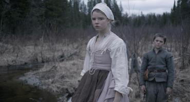 """This photo provided by courtesy of A24 shows Anya Taylor-Joy, left, as Thomasin, and Harvey Scrimshaw as Caleb in a scene from the film, """"The Witch."""" (Rafy/A24 via AP)"""