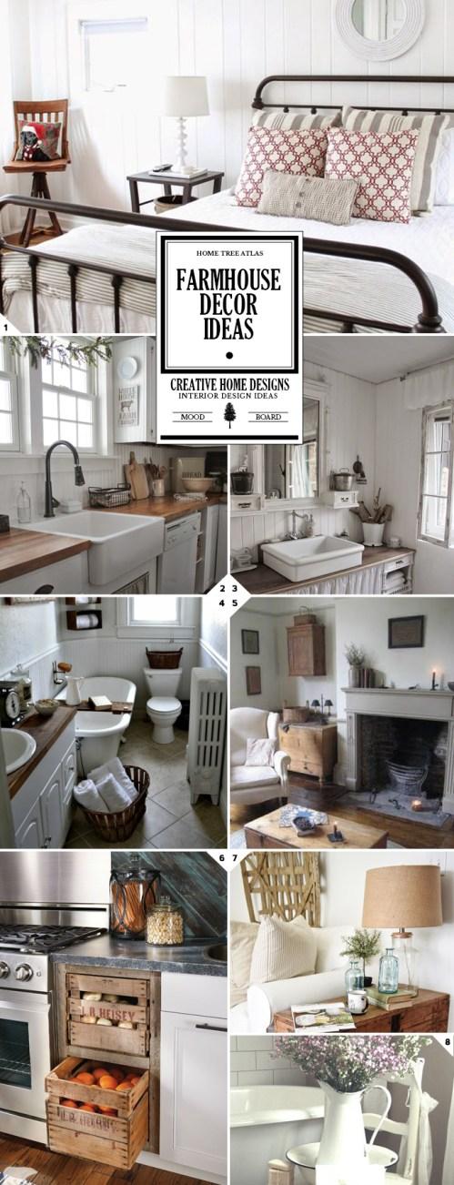 Medium Of Farmhouse Home Design