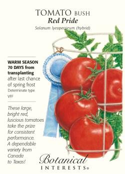 Small Of Better Bush Tomato