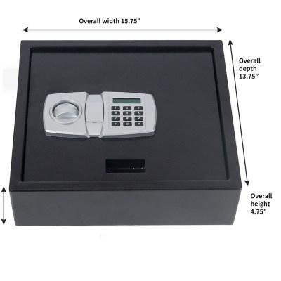 Digital LCD Lock Electronic Keypad Top-Opening Safe Security Box Cash Drawer | eBay