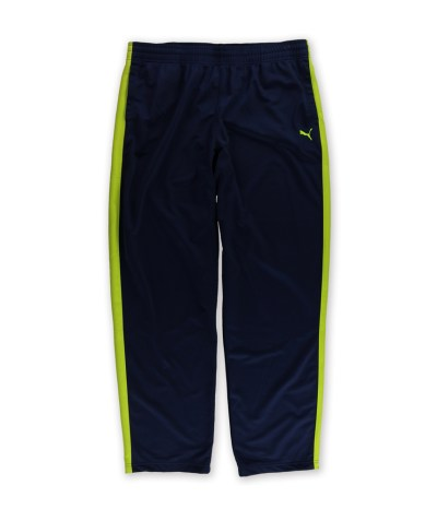 Puma Mens Sport Lifestyle Contrast Athletic Track Pants ...