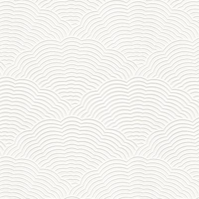 White Blown Vinyl Wallpaper Embossed Textured Paintable ...