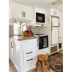 Gorgeous Five A Kitchen Pesto A Kitchen Dog Cake Compact Kitchen A Couple Spend To Turn An Rv Into A Home