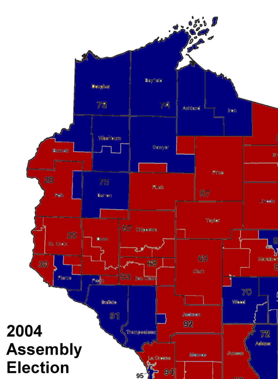 ELECTION FEATURE  Red  Blue  or Purple    despite shifting     Not all state Senate seats are up in each election  so not all seats were  contested in a given election