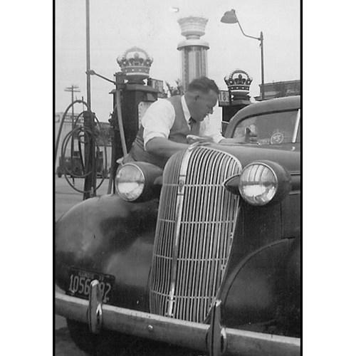 Medium Crop Of Vintage Gas Station