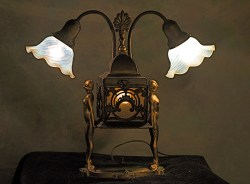 Small Of Art Deco Lamp