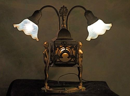 Medium Of Art Deco Lamp