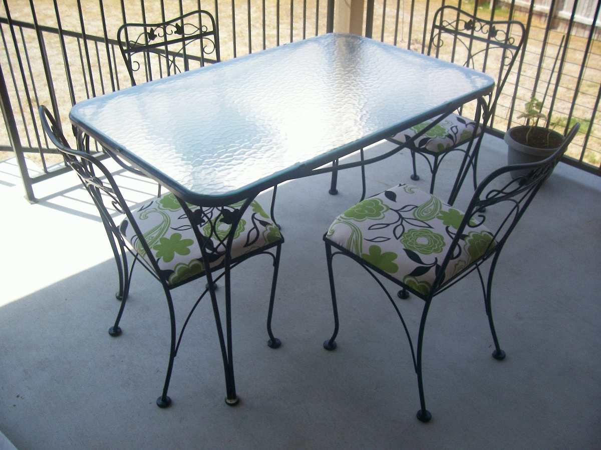 Cheerful Chairs Collectors Weekly Piece Wrought Iron Patio Table Piece Wrought Iron Patio Table Chairs Collectors Wrought Iron Furniture Cushions Wrought Iron Furniture Feet houzz 01 Wrought Iron Furniture