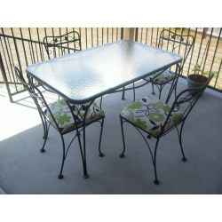 Small Crop Of Wrought Iron Furniture
