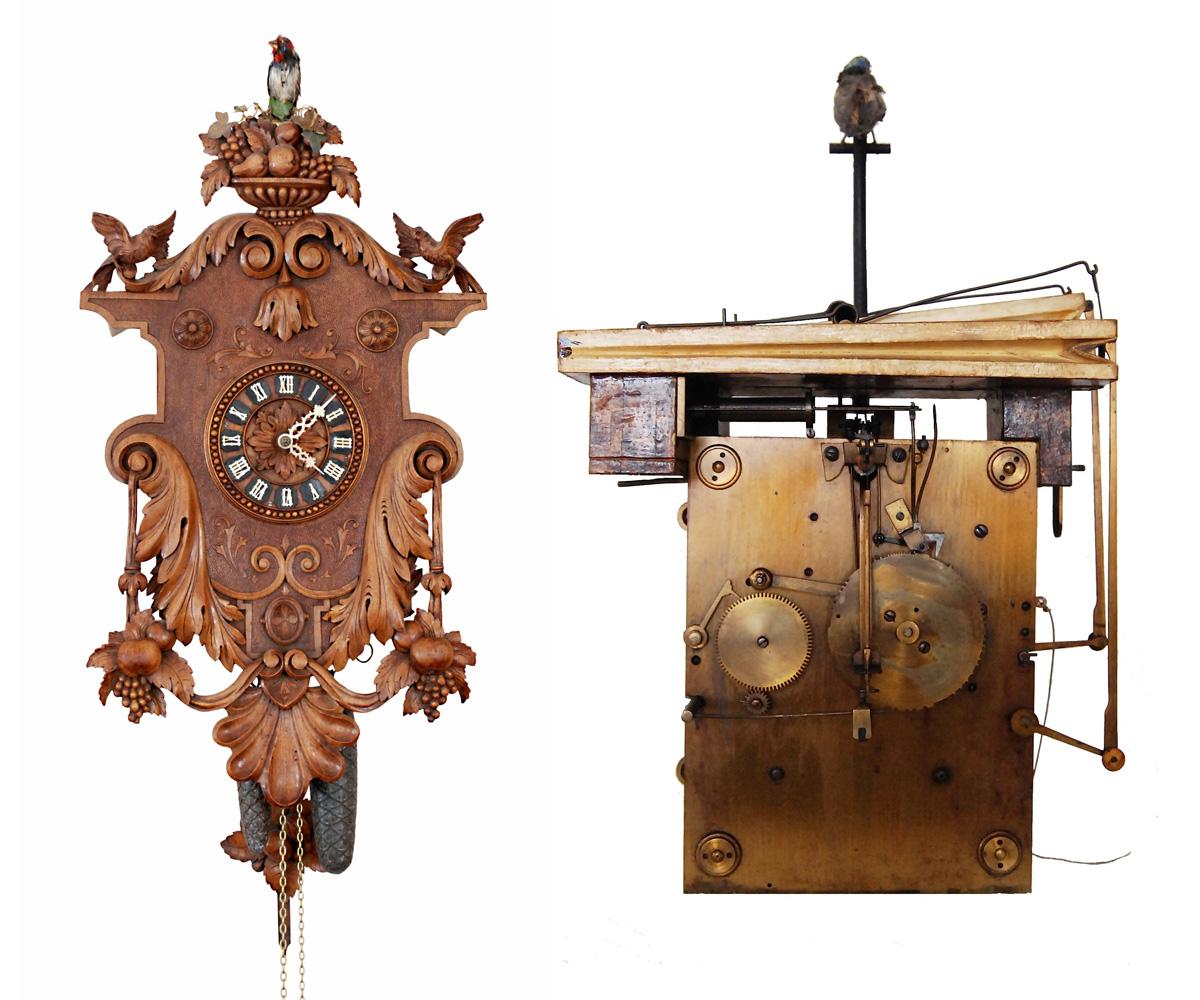 Dark A Fully Animated Clock Made By Emilian Wehrle Not Your Clocks Sale Far Clock Parts Far Clocks furniture Unique Grandfather Clock