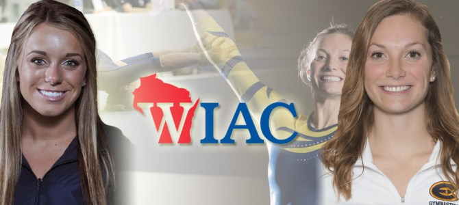 Jondahl and Zurowski Earn WIAC Gymnast of the Week Honors