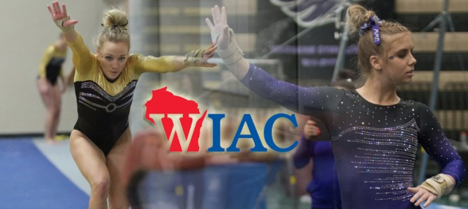 Kopp and Fiorilli Finish Regular Season with WIAC Gymnast of the Week Honors