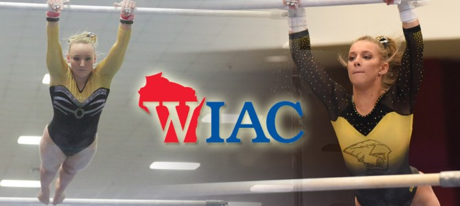 Tkaczuk and Ardy Collect WIAC Gymnast of the Week Honors
