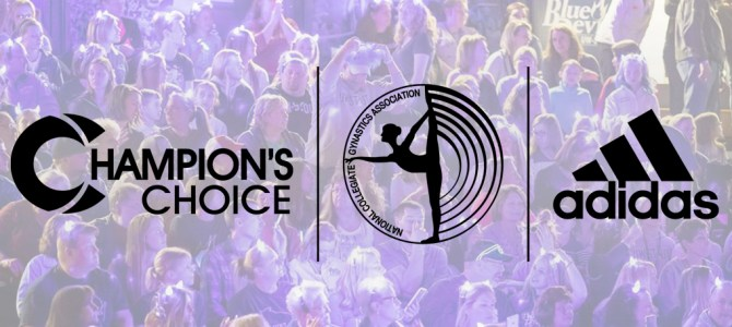 National Collegiate Gymnastics Association Announces Partnership With Champions Choice