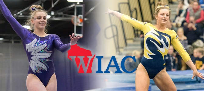 Erickson and Mierow Clean Up WIAC Gymnast of the Week Honors