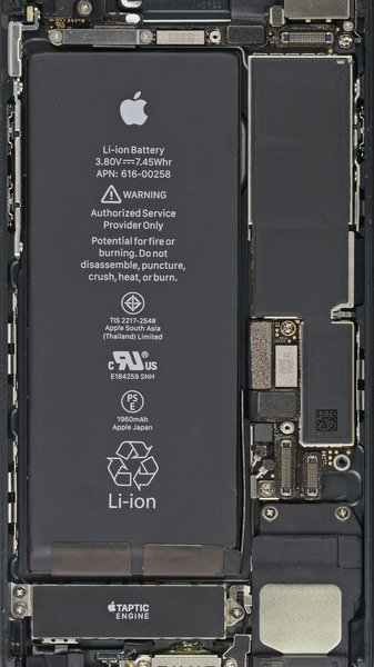 Turn Your Phone Inside Out: iPhone 7 and 7 Plus Internals Wallpapers | iFixit