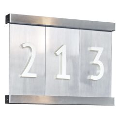 8 12 Aluminum Tile House Numbers Rejuvenation