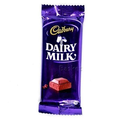 Cadbury Dairy Milk 14 gm Pouch: Buy online at best price | BigBasket
