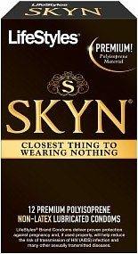 LifeStyles SKYN Premium Polyisoprene Non-Latex Lubricated ...