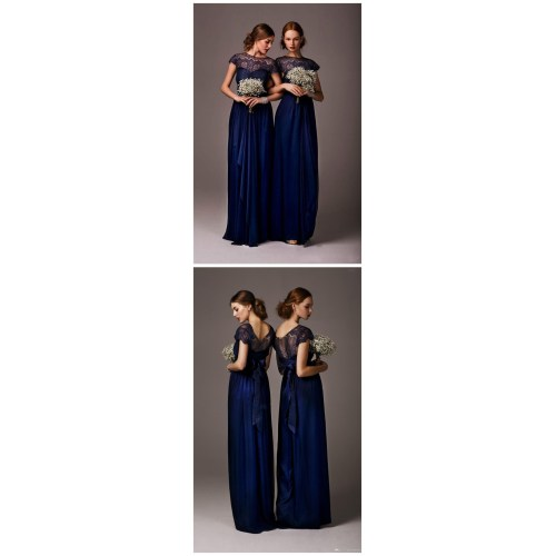 Medium Crop Of Navy Bridesmaid Dresses