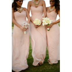 Small Crop Of Light Pink Bridesmaid Dresses