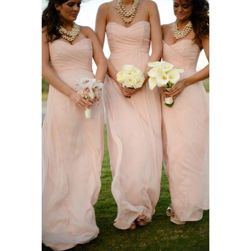 Medium Crop Of Light Pink Bridesmaid Dresses