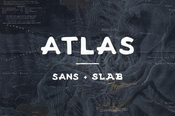 Atlas - Sans and Slab Font Download