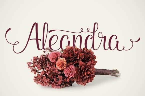 Aleandra Font Download