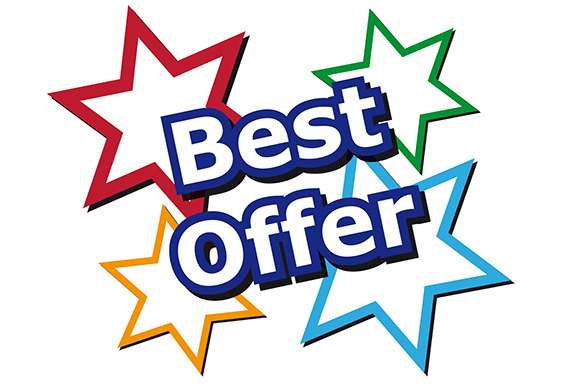 Best Offer icon ~ Web Elements on Creative Market