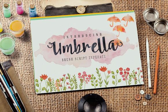 Umbrella Font Download